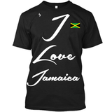 I Love Jamaica T-Shirt - 1st Culture