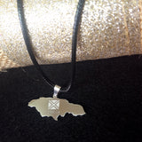 Jamaica Map Stainless Steel Pendant - 1st Culture