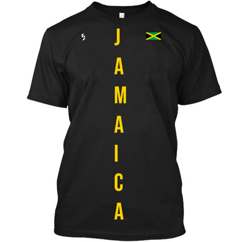 Jamaica Vertical Print T-Shirt - 1st Culture