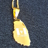 Saint Vincent Gold Color Necklace - 1st Culture