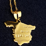 Spain Gold Color Necklace - 1st Culture