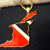 Trinidad & Tob Full Color Necklace - 1st Culture