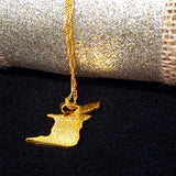 Trinidad & Tob Gold Color Necklace - 1st Culture