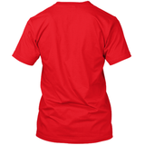 Dominicano Vertical Red T-Shirt - 1st Culture