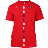 Dominicana Vertical Printed T-Shirt - 1st Culture