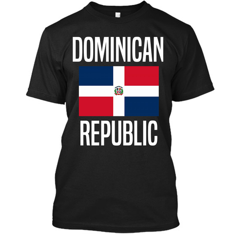 Dominican Republic Flag T-Shirt - 1st Culture