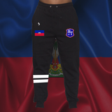Haiti Badge Sweatpants Black - 1st Culture
