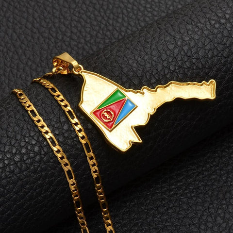 Eritrea Map Necklace (Big), eritrea necklace, eritrea shirt, Eritrea flag, Eritrea map, Eritrea poster, Eritrea keychain, Eritrea earrings