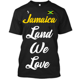 Jamaica Land We Love T-Shirt - 1st Culture