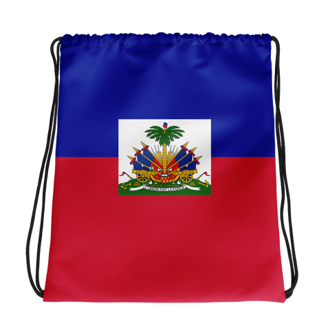Haiti Map Drawstring bag - 1st Culture