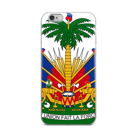 Haiti Emblem iPhone Case - 1st Culture