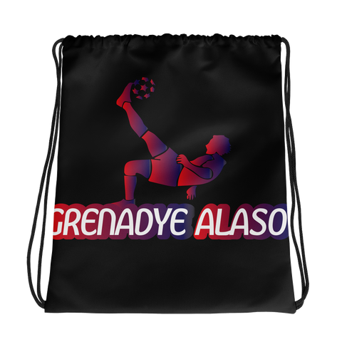Grenadye Alaso Drawstring Bag Black - 1st Culture