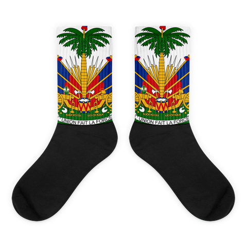 Haiti Emblem Socks - 1st Culture