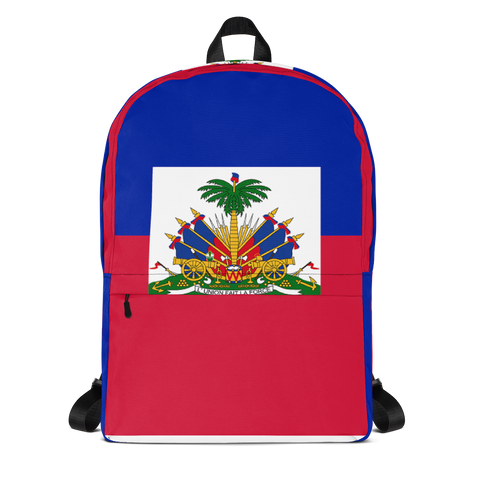 Haiti Flag Major Backpack - 1st Culture