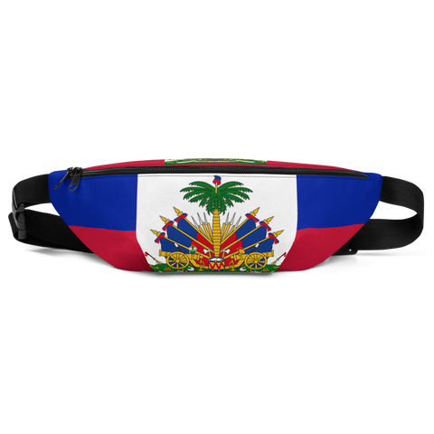 Haiti Flag Fanny Pack - 1st Culture