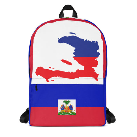 Haiti Map Backpack - 1st Culture