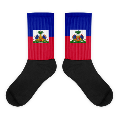 Haiti Flag Socks - 1st Culture
