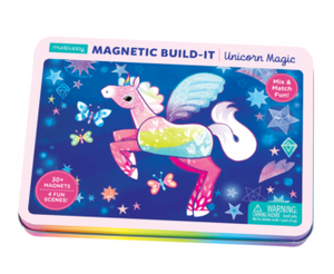 Unicorn build-it set (magnetic)