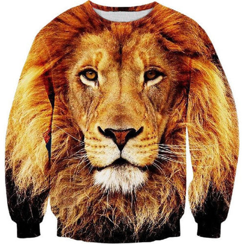 3D Big Lion Sweat-sweat-Sweats for Sale-Sweats for Sale