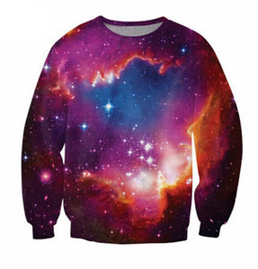 3D Space Galaxy Sweat-sweat-Sweats for Sale-Sweats for Sale