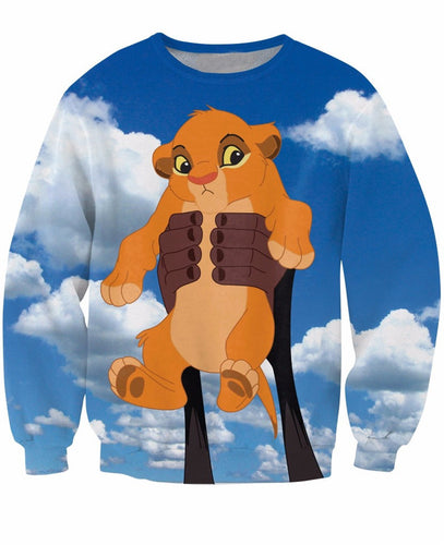 3D Baby Simba Sweat-sweat-Sweats for Sale-Sweats for Sale