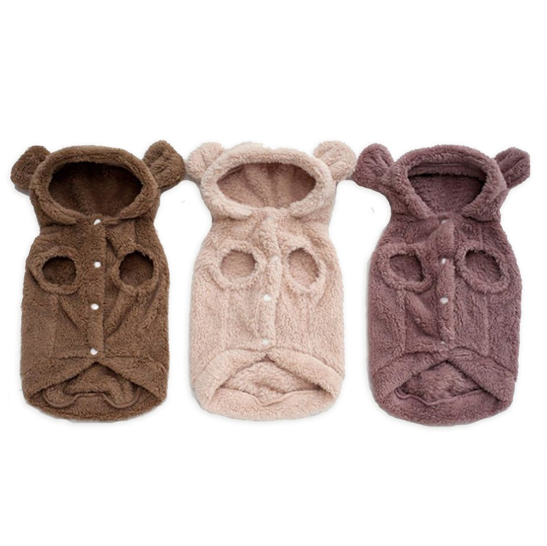 Little Doggo Bear Sweater - 3 Colors!