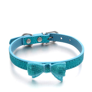Bow Bling Collar - 3 Colors!