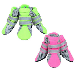 Lightweight Mesh Neon Doggo Booties - 2 Colors!