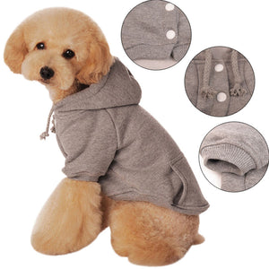 Basic Doggo Button Up Hoodie - 4 Colors!