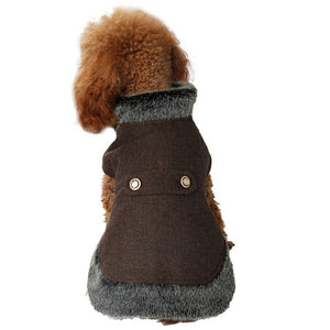 Classy Canine Fur Trimmed Wrap - 4 Colors!