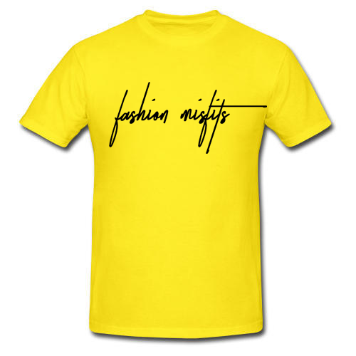 Fashion Misfits Signature Logo Tee