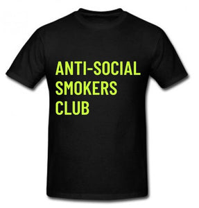 Anti Social Smokers Club tee