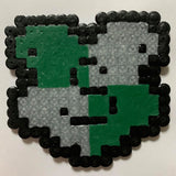 B&E BEADING- HAMA BEAD HARRY POTTER CARDS: SLYTHERIN-CREDIBLE! #1
