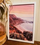 "THE OOPSY DAISY CO - ""Great Ocean Road Rainbow "" A3 PRINT"