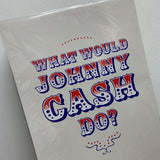 "THE OOPSY DAISY CO - ""JOHNNY CASH"" A3 PRINT"