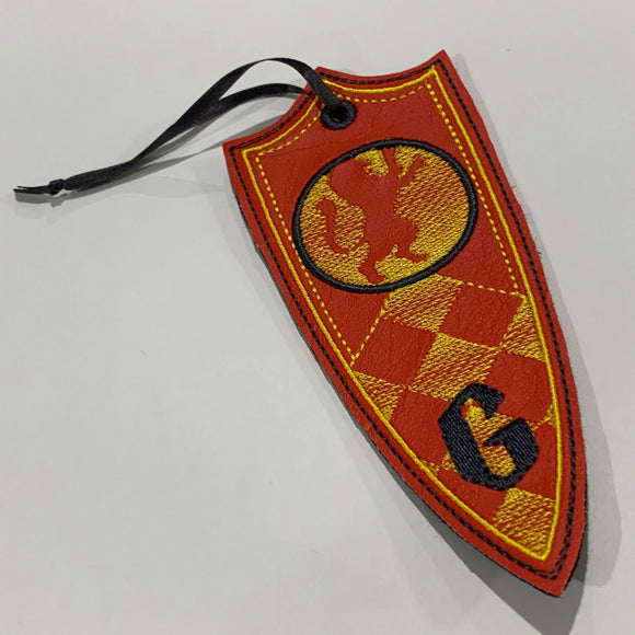 STITCH WARS- HOGWARTS HOUSES BOOKMARKS- GRYFFINDOR