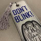 "STITCH WARS- DR WHO ""WEEPING ANGEL"" BOOKMARK"