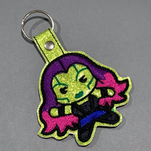 "STITCH WARS- MARVEL ""GAMORA"" KEYRING"