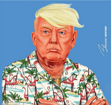 HIPSTORY ART- DONALD TRUMP VINYL STICKERS