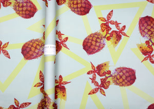 HANNAH MURRAY - Pineapple Pool Party Wrapping Paper / Poster