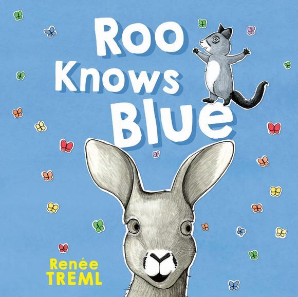 MAKIN' WHOOPEE - RENEE TREML - ROO KNOWS BLUE CHILDREN BOOK
