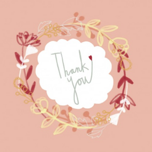NUOVO - JESS RACKLYEFT GIFT CARD - THANK YOU