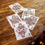 JOKER & THE THIEF PLAYING CARDS - BLOOD RED EDITION