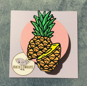 MAKIN' WHOOPEE - Pineapple Brooches