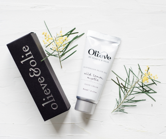 OLIEVE AND OLIE Wild Lemon Myrtle Hand Cream
