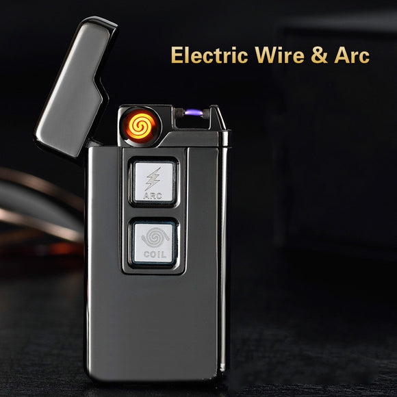 Usb Charge Tesla Coil &Arc Lighter USB Windproof