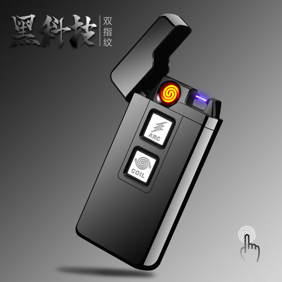 Usb Charge Tesla Coil &Arc windproof lighter