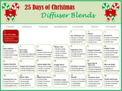 christmas diffuser blends