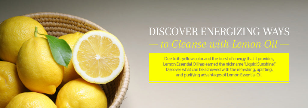 Lemon Essential Oil - Uses & Benefits - Essentially You Oils - Ottawa