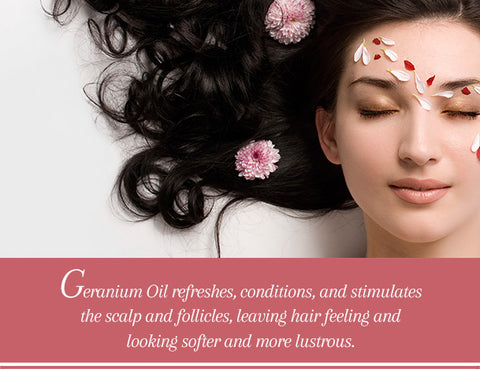 Geranium Essential Oil - Uses & Benefits - Essentially You Oils - Ottawa Ontario Canada